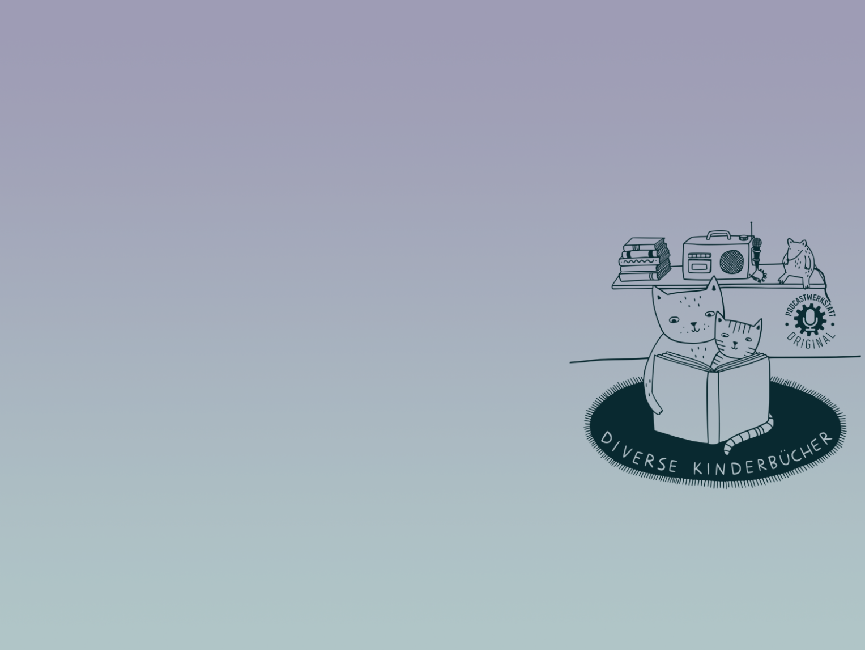 "Logo des Kinderbuchpodcasts ""Diverse Kinderbücher"""