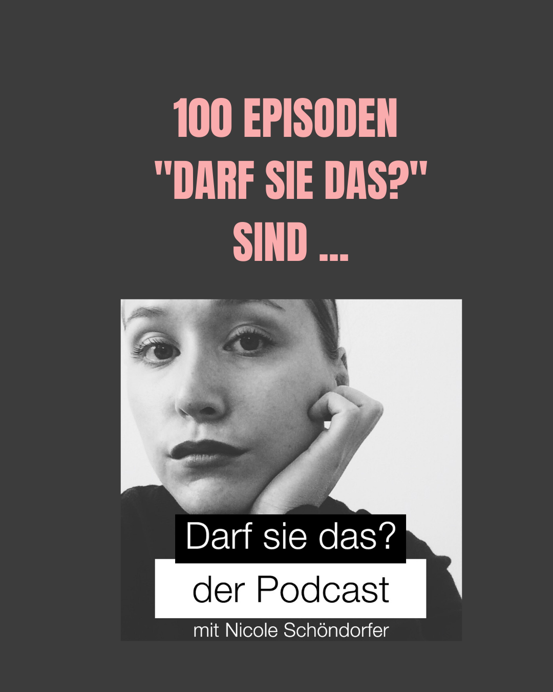 """100 Episoden """"Darf sie das?"""" sind …"""